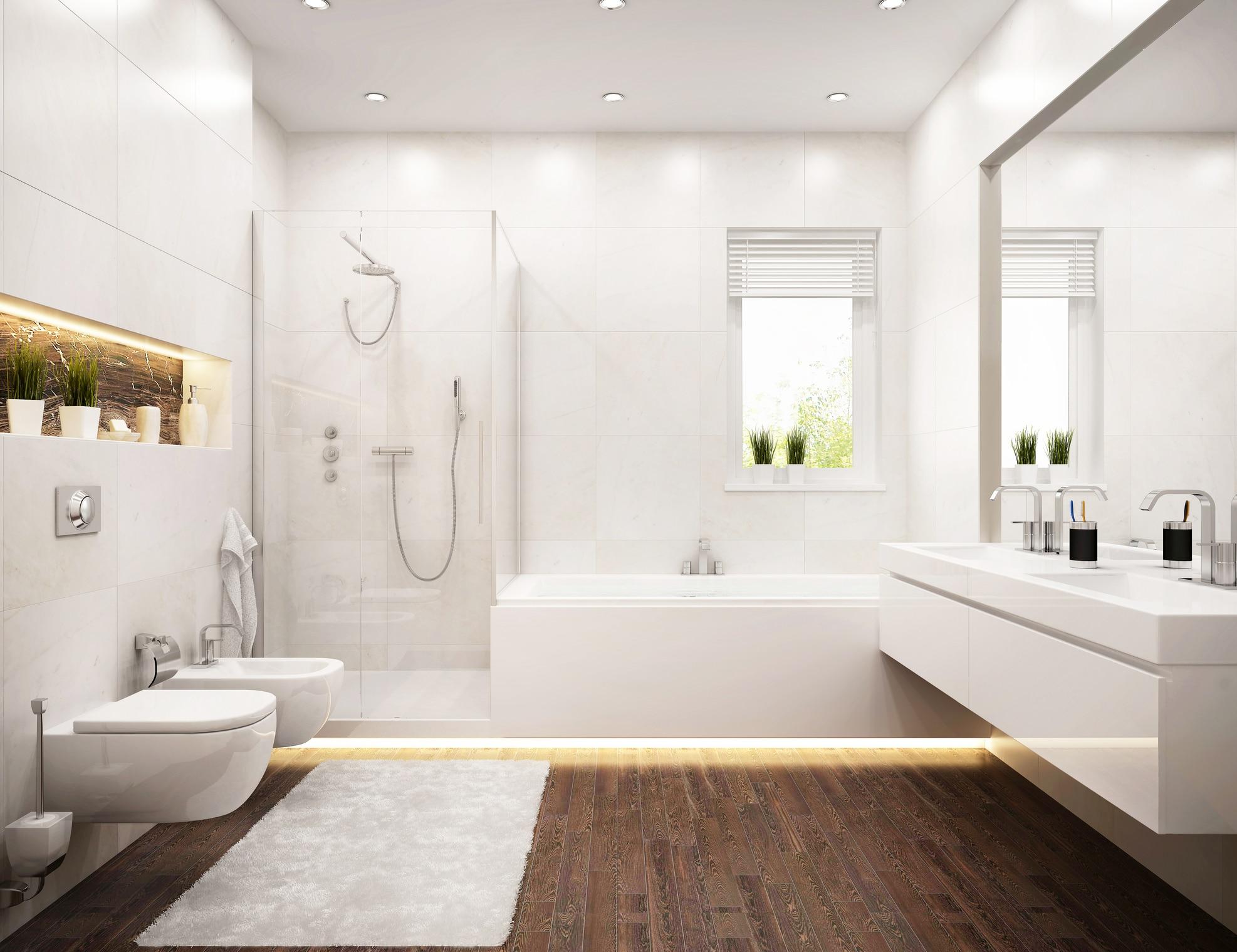 Une salle de bain luxueuse