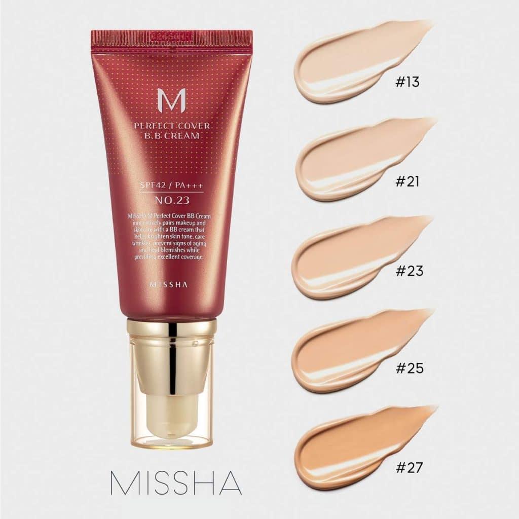 missha meilleure marque cosmetique coreen