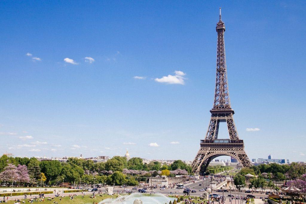 voir la tour eiffel en France